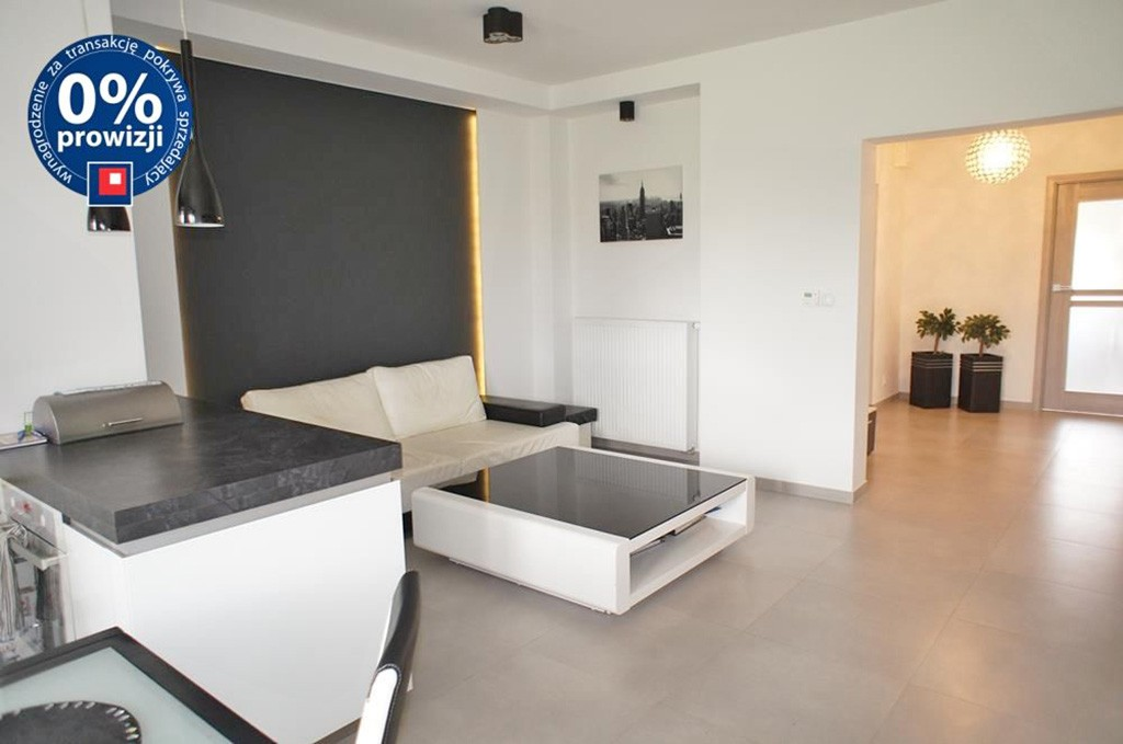 na zdjęciu apartament do sprzedaży w Szczecinie, widok na salon