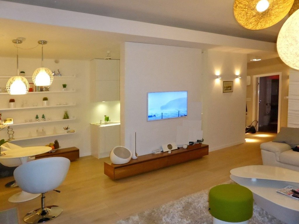 na zdjęciu luksusowe wnętrze apartamentu do sprzedaży pod Wrocławiem