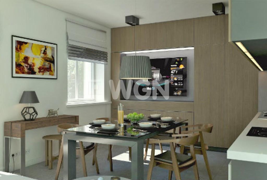 na zdjęciu luksusowa kuchnia w apartamencie do sprzedaży w Legnicy