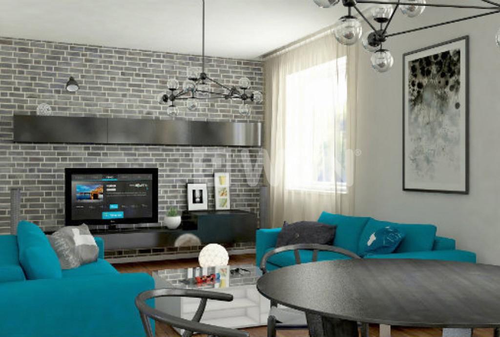 wnętrze apartamentu do sprzedaży w Legnicy (wizualizacja)