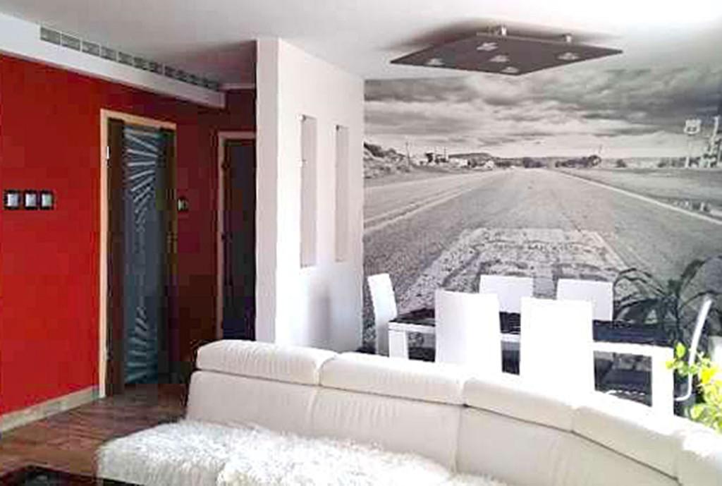 zdjęcie przedstawia wnętrze salonu w apartamencie do wynajęcia w Szczecinie