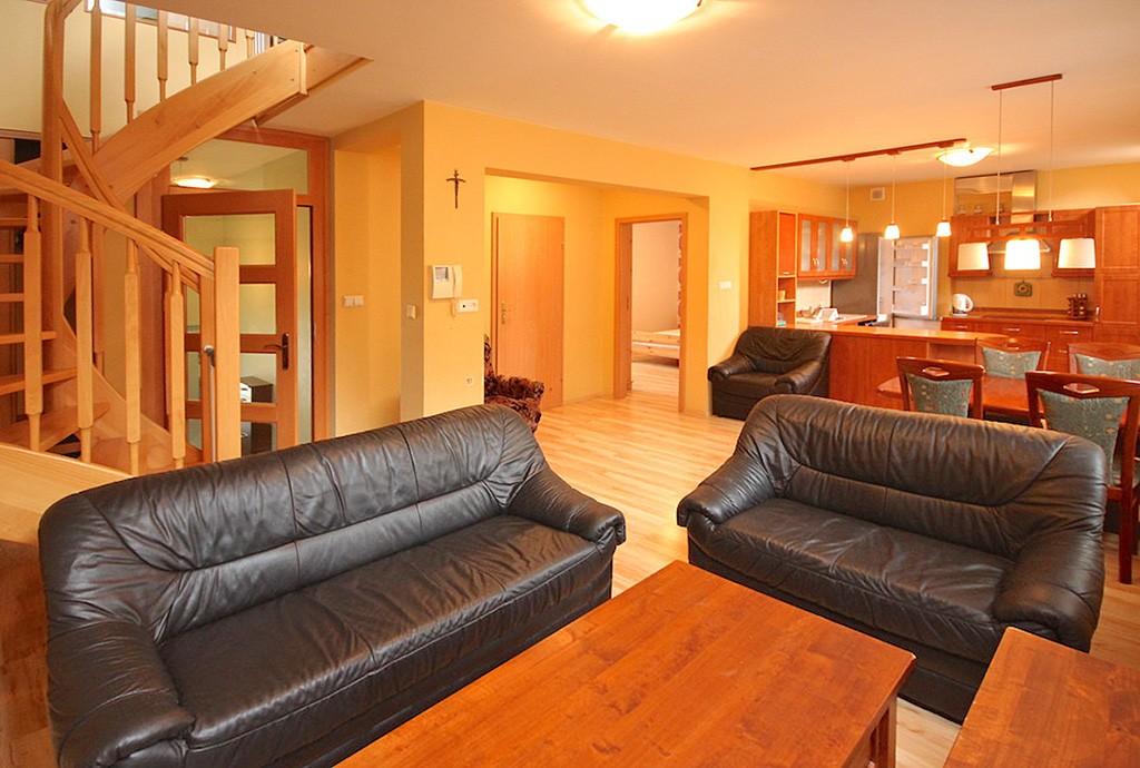 wnętrze luksusowego apartamentu na wynajem w Szczecinie