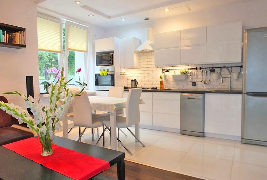 na zdjęciu luksusowe wnętrze apartamentu w Jaworznie na sprzedaż