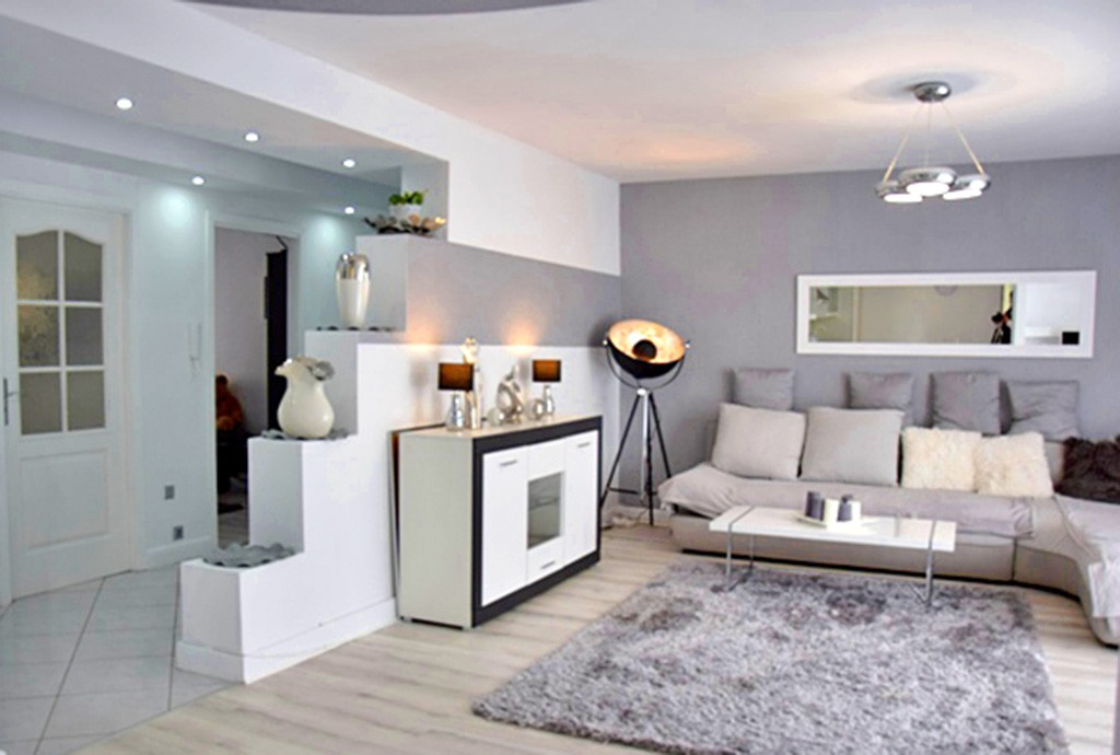 zdjęcie przedstawia ekskluzywny salon w luksusowym apartamencie do wynajęcia w Słupsku