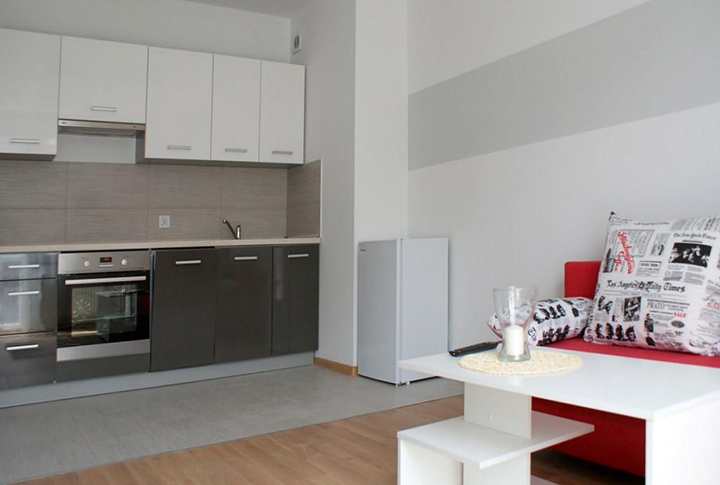 na zdjęciu luksusowe wnętrze apartamentu do wynajmu w Głogowie
