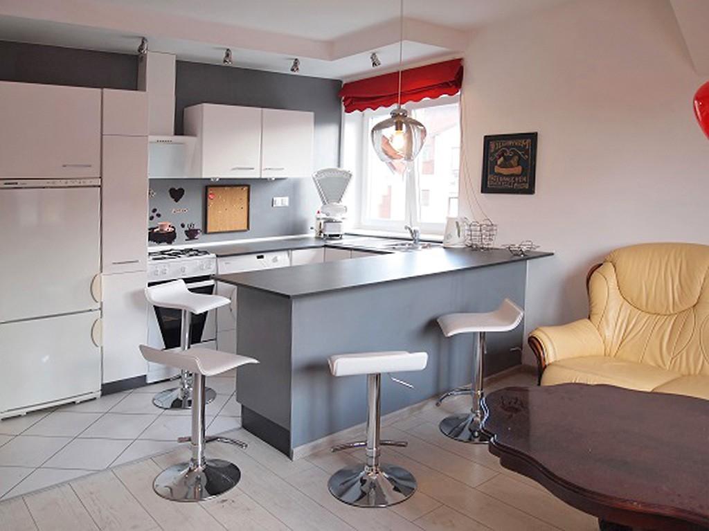 na zdjęciu luksusowe wnętrze apartamentu w Szczecinie do sprzedaży