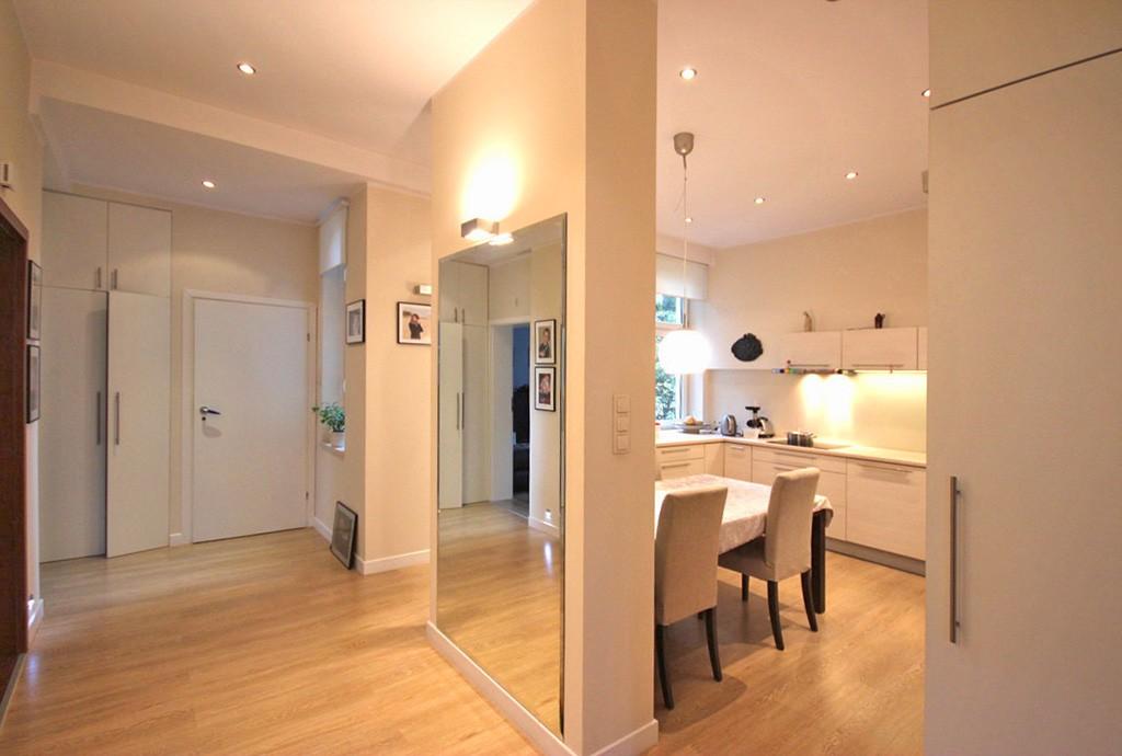 na zdjęciu komfortowe wnętrze apartamentu do wynajęcia w Szczecinie