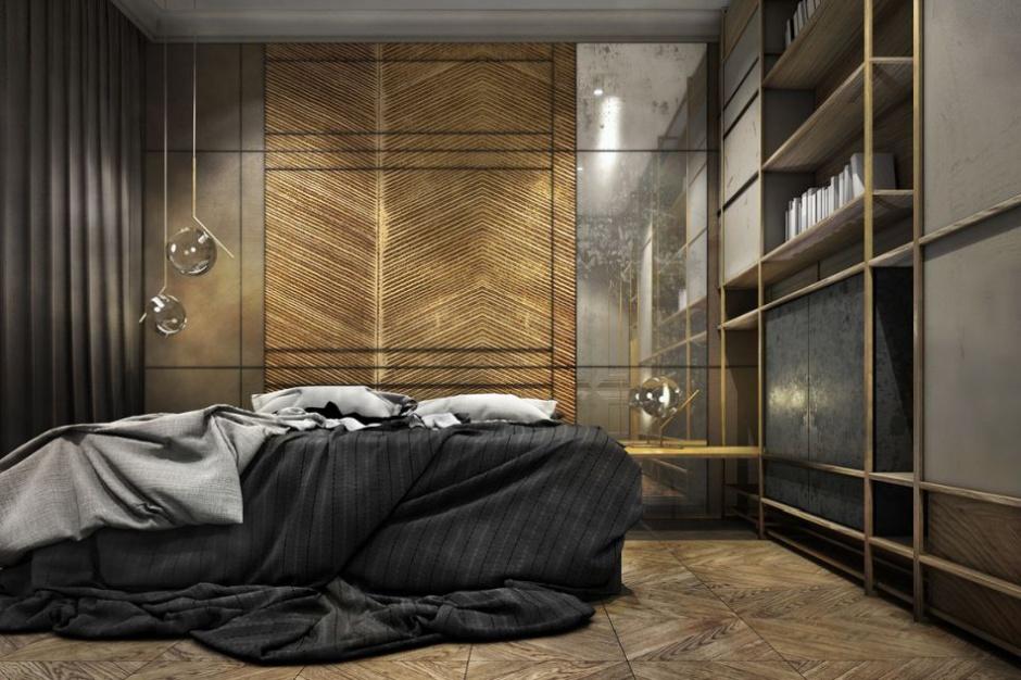 Apartament w Gdańsku inspirowany historią miasta... i Sądem ostatecznym - projekt