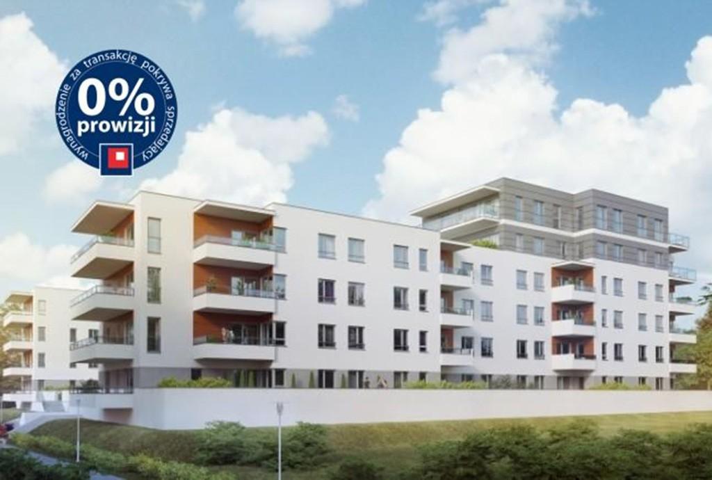 na zdjęciu widok na apartamentowiec w Olsztynie, w którym znajduje się oferowany na sprzedaż apartament
