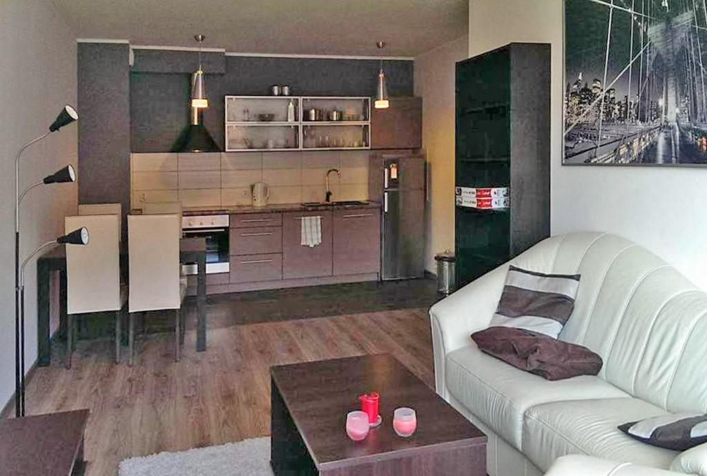 na zdjęciu ekskluzywna wnętrze luksusowego apartamentu do wynajęcia w Szczecinie