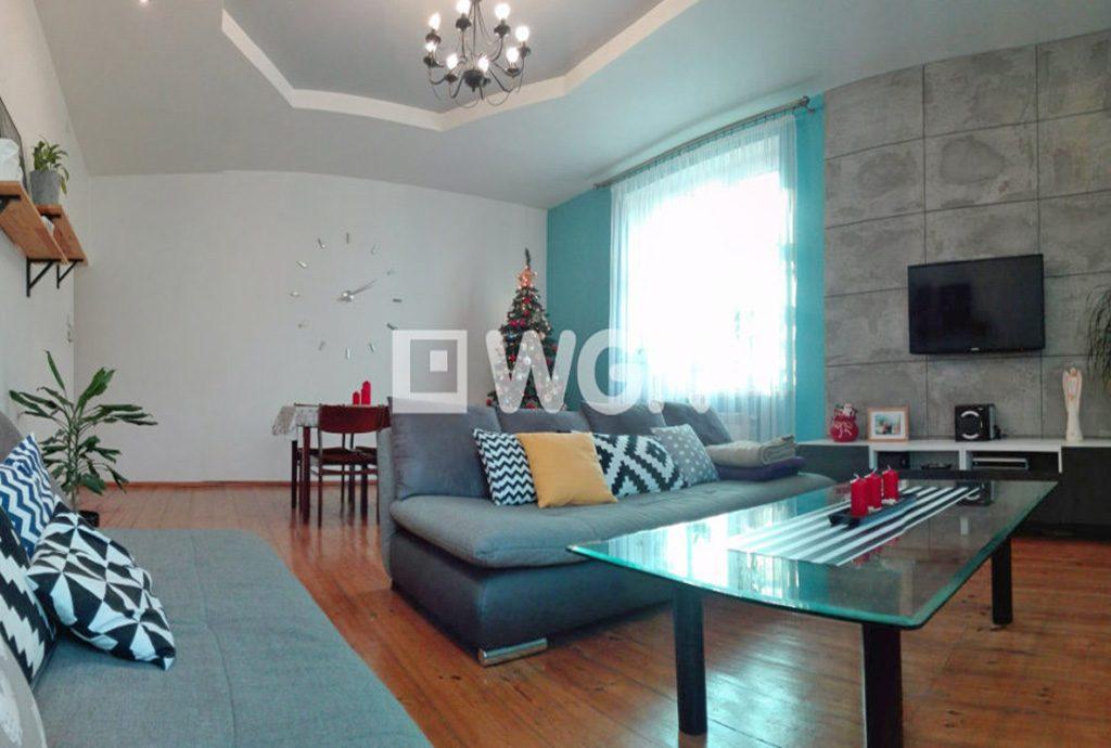 widok na ekskluzywne wnętrze luksusowego apartamentu do sprzedaży w Chorzowie