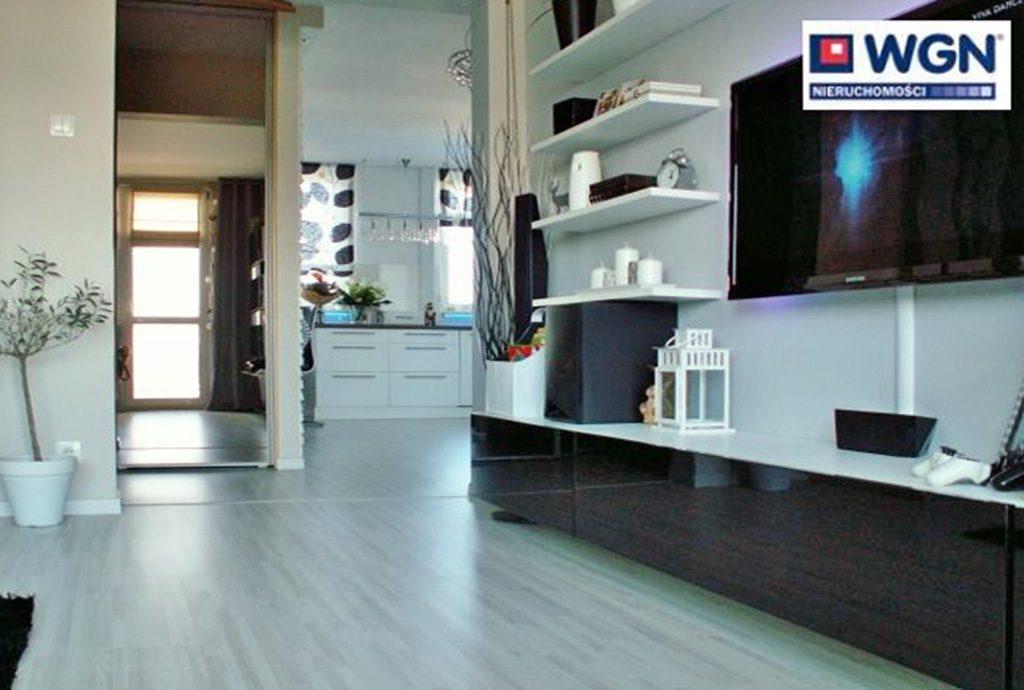 widok na luksusowe wnętrze apartamentu do sprzedaży w Polkowicach