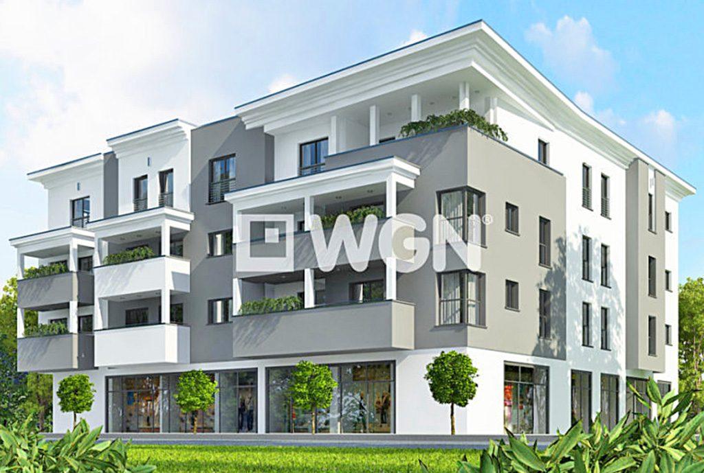 na zdjęciu apartamentowiec w Toruniu, w którym znajduje się oferowany na sprzedaż luksusowy apartament
