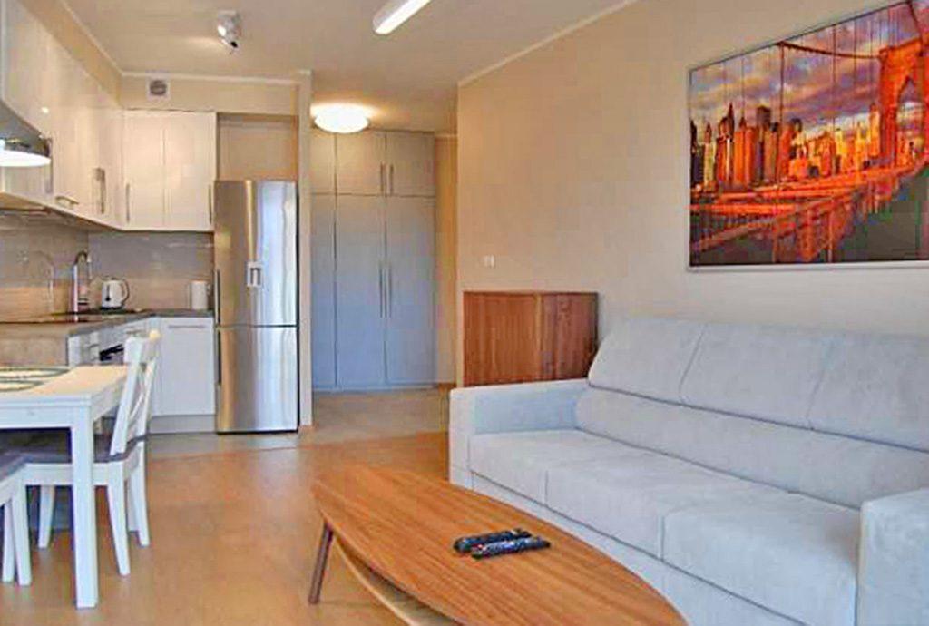 wnętrze ekskluzywnego apartamentu do wynajęcia w Szczecinie
