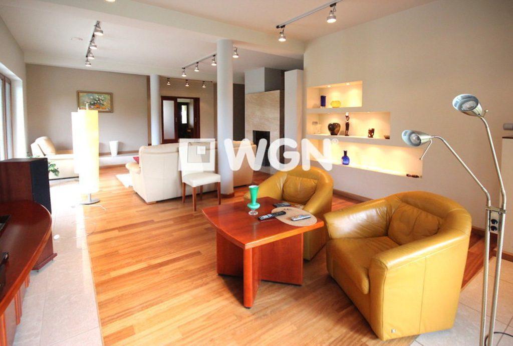 salon luksusowej willi do wynajęcia w Szczecinie