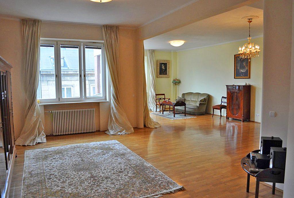 luksusowe wnętrze ekskluzywnego apartamentu do wynajęcia w Warszawie