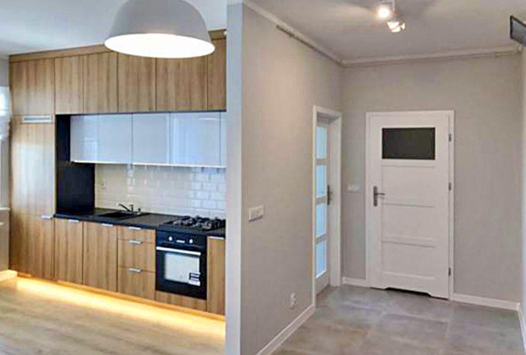 komfortowe wnętrze luksusowego apartamentu do sprzedaży w Białymstoku