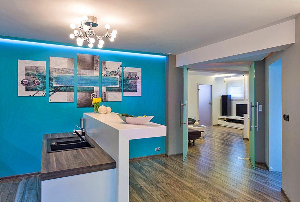 nowoczesne wnętrze luksusowego apartamentu do sprzedaży w Białymstoku