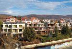 przepiękny widok z okna luksusowego apartamentu w Bułgarii na sprzedaż