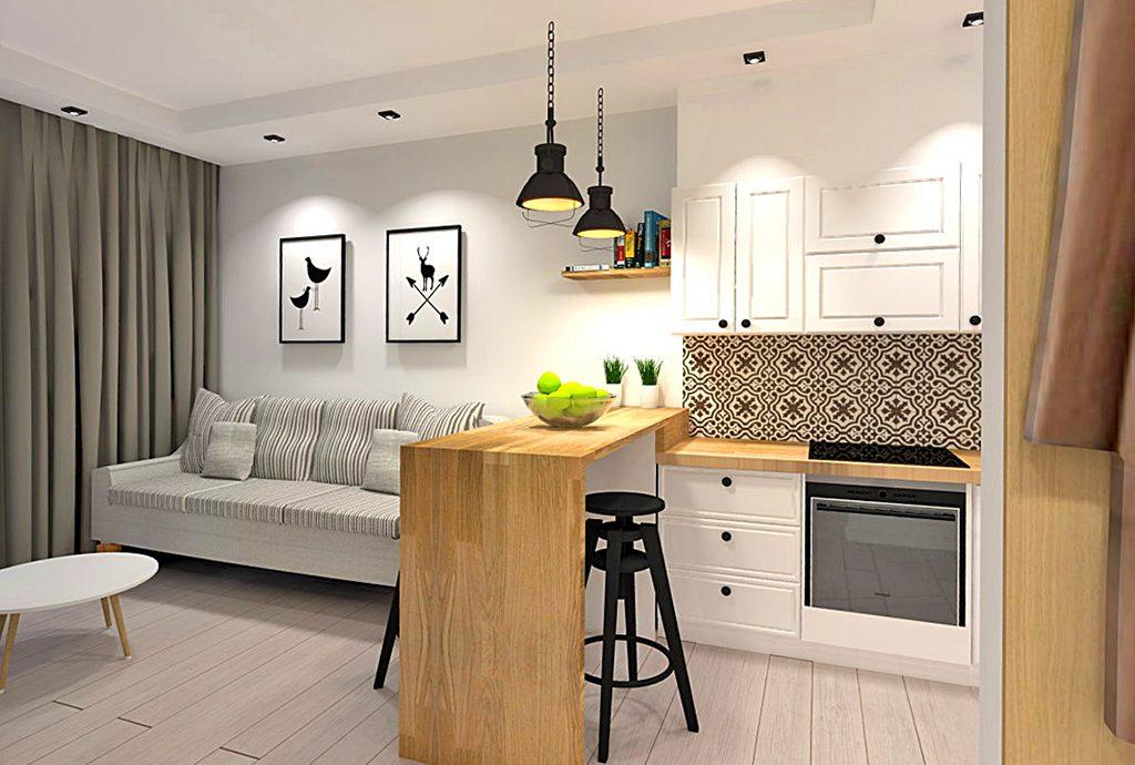 nowoczesne wnętrze luksusowego apartamentu do wynajęcia w Katowicach