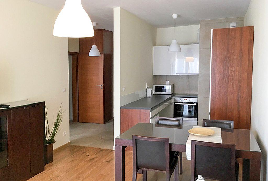wnętrze ekskluzywnego apartamentu do wynajęcia w Katowicach