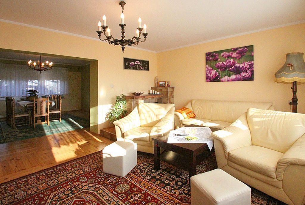 luksusowe wnętrze ekskluzywnej willi na sprzedaż w Sieradzu