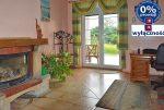 widok na ekskluzywny salon w luksusowej willi do sprzedaży w okolicach Żagania