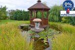 zadbana i zagospodarowana działa wokół luksusowej willi w okolicach Żagania na sprzedaż