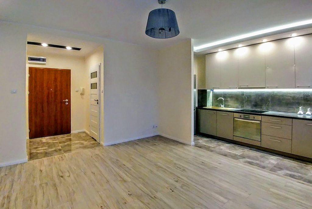 nowoczesna kuchnia w ekskluzywnym apartamencie do sprzedaży w Białymstoku