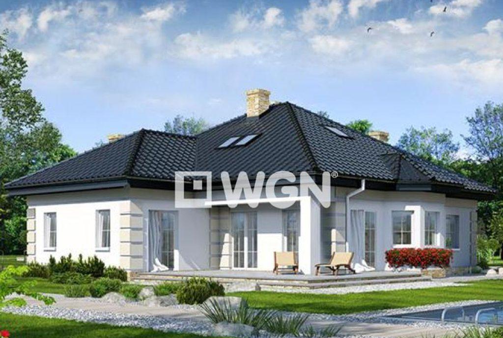 wizualizacja ekskluzywnej willi do sprzedaży w Inowrocławiu