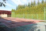 kort tenisowy na terenie luksusowej willi w Starogardzie Gdańskim na sprzedaż