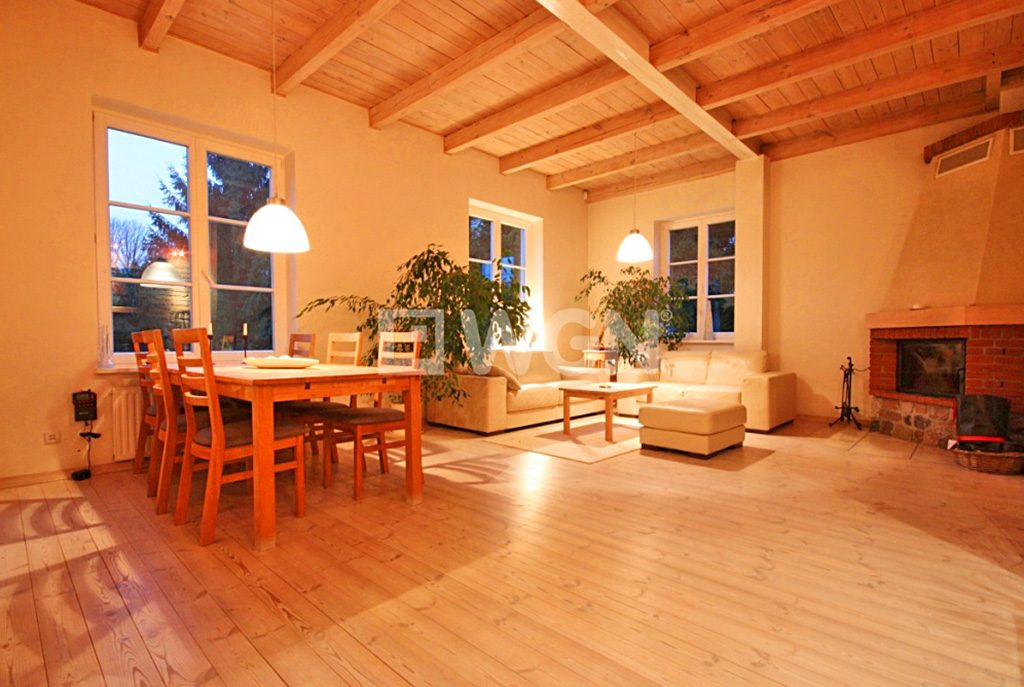 komfortowe wnętrze ekskluzywnej willi do wynajęcia w Szczecinie