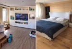widok na salon oraz sypialnię w ekskluzywnym apartamencie w Bułgarii na sprzedaż