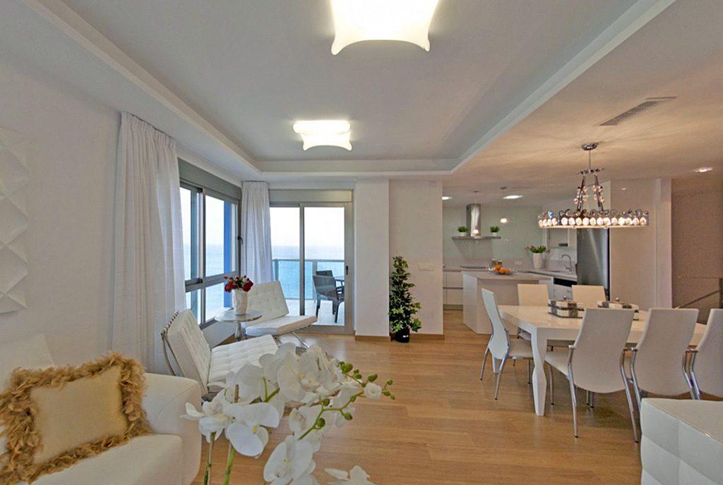 prestiżowe wnętrze ekskluzywnego apartamentu do sprzedaży w Hiszpanii