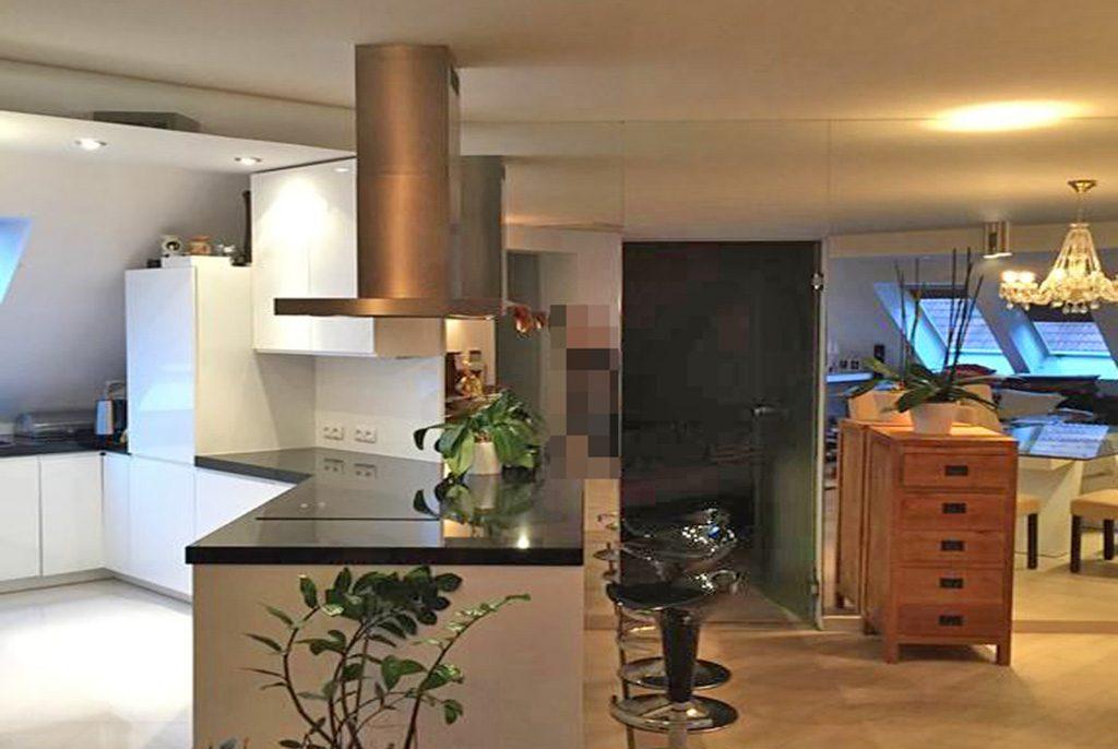 fragment nowoczesnego wnętrze ekskluzywnego apartamentu do wynajęcia we Wrocławiu