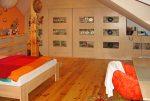 elegancka, zaciszna sypialnia w luksusowej willi w okolicach Krakowa na sprzedaż