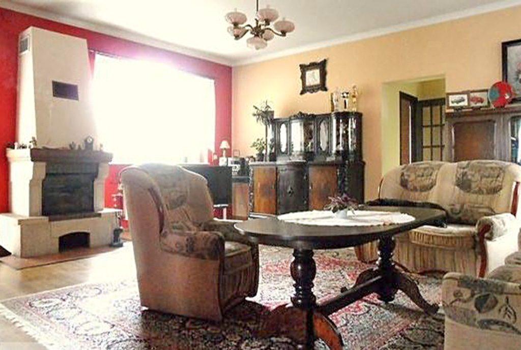 stylowy salon w ekskluzywnej willi do wynajmu w okolicach Szczecina