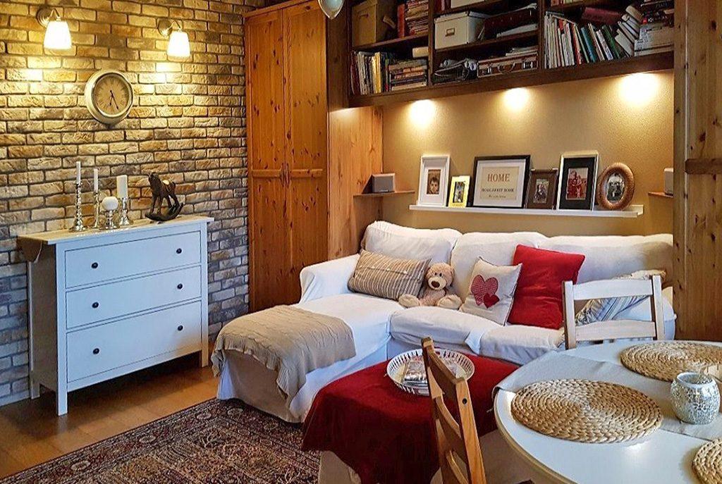 komfortowy salon w ekskluzywnym apartamencie do sprzedaży w Krakowie
