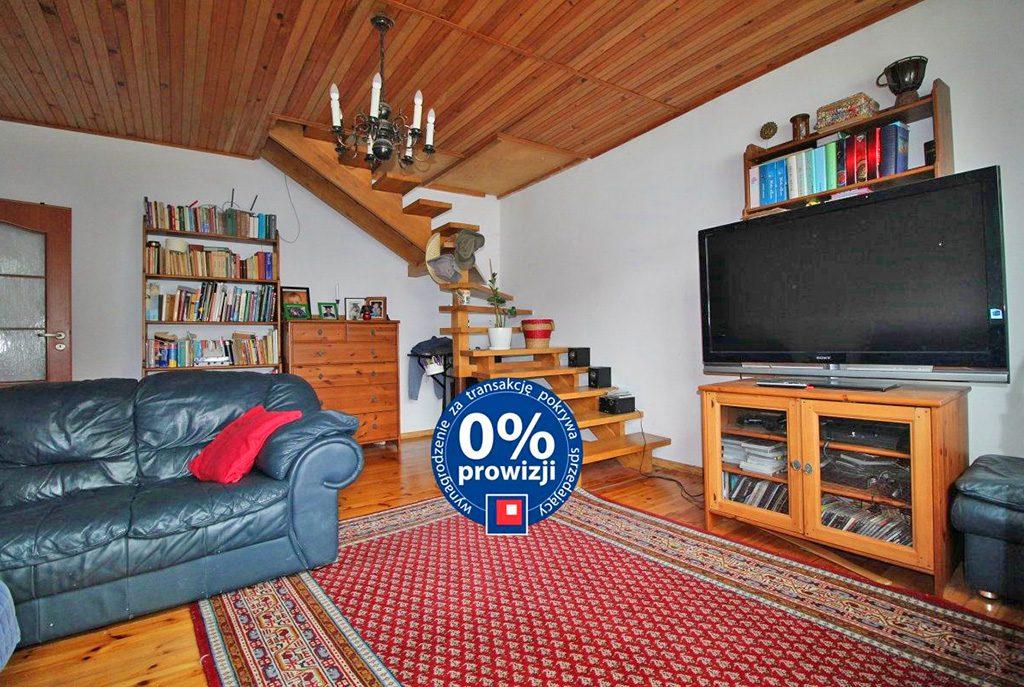 stylowy salon w ekskluzywnym apartamencie do sprzedaży w Krakowie