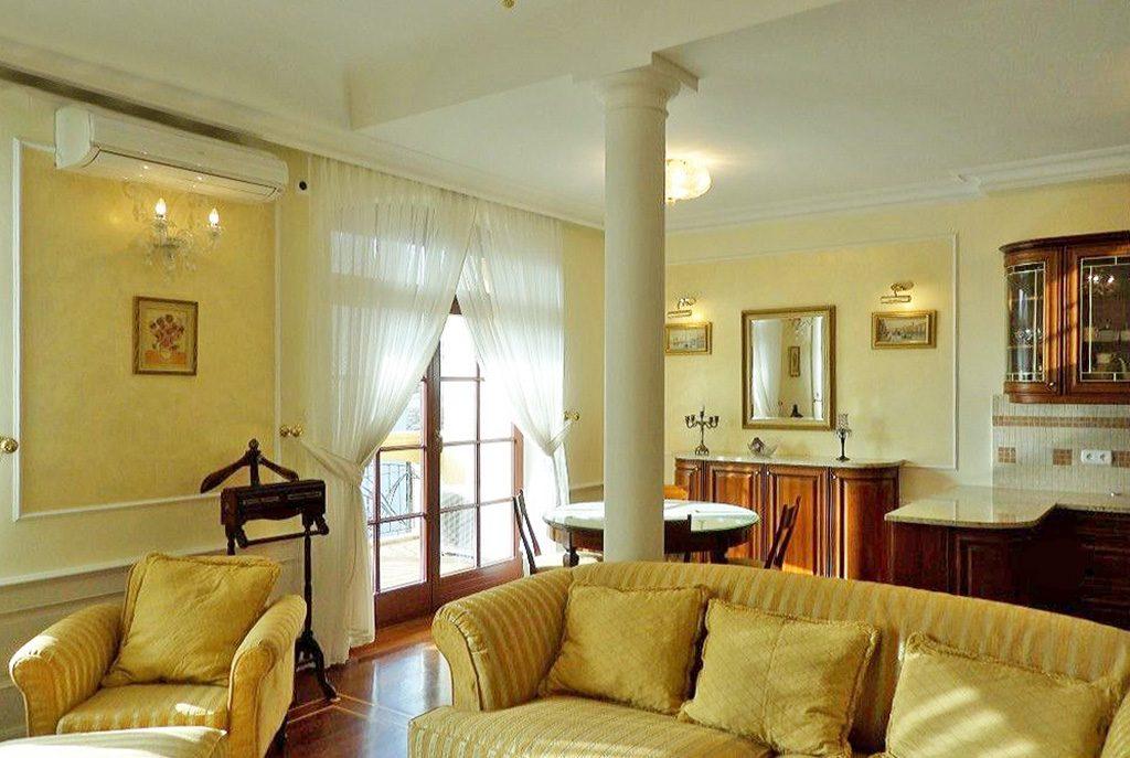 ekskluzywny salon w luksusowym apartamencie do sprzedaży we Wrocławiu