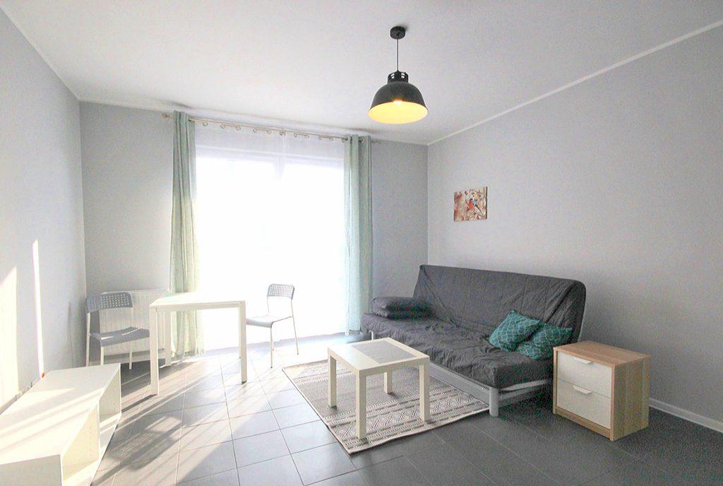 stylowy salon w ekskluzywnym apartamencie do wynajęcia w Szczecinie