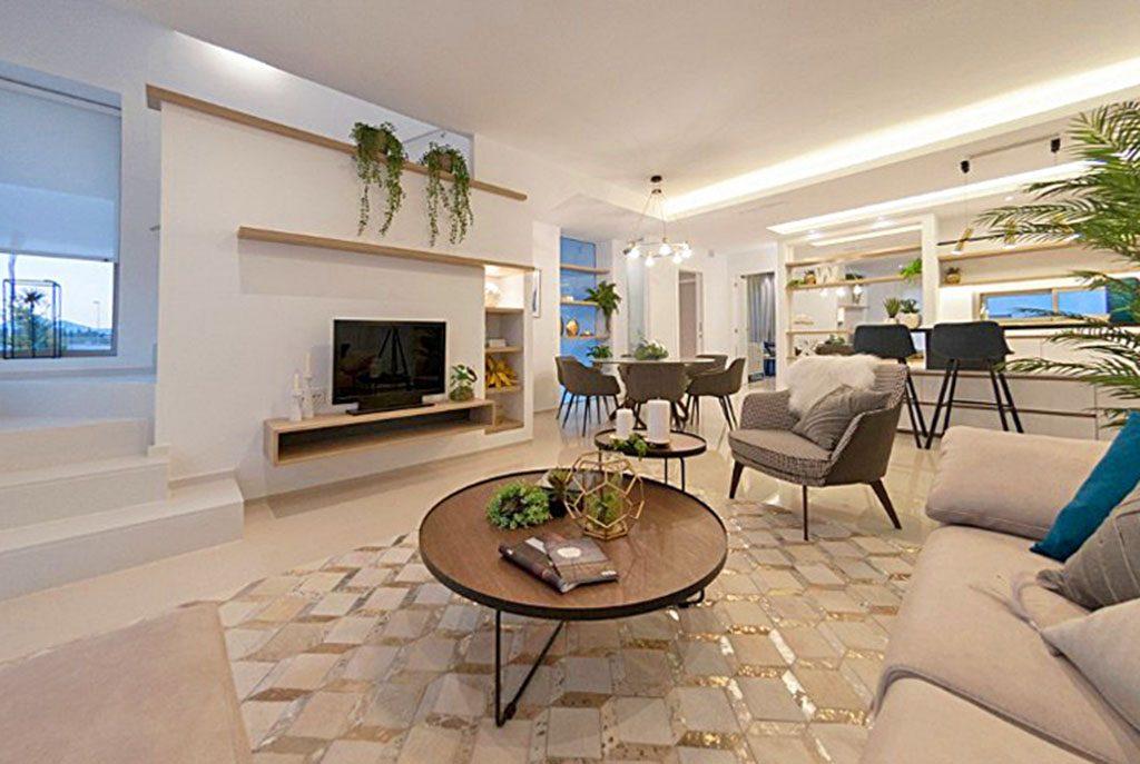 luksusowe wnętrze ekskluzywnej willi do sprzedaży w Hiszpanii