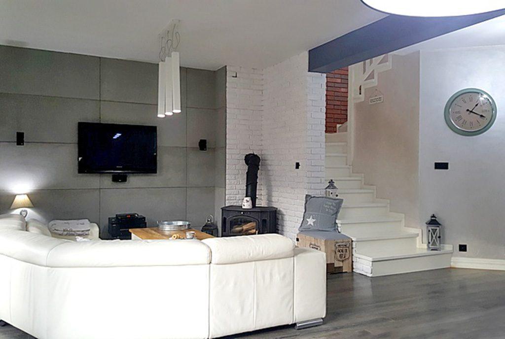 prestiżowy salon w ekskluzywnej willi do sprzedaży w Tczewie