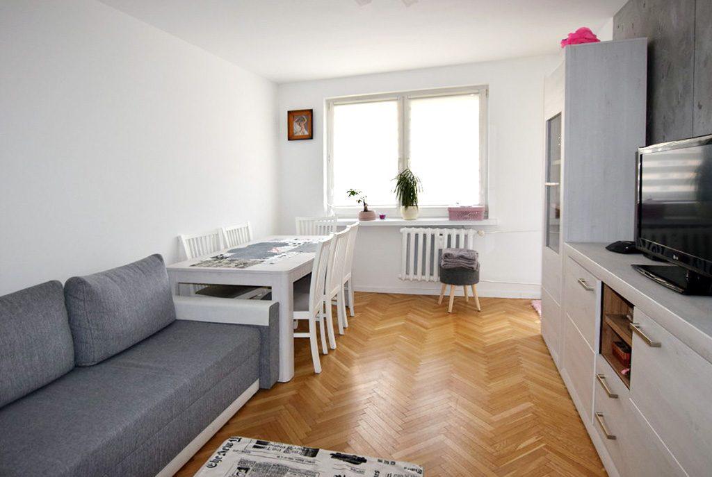 salon w ekskluzywnym apartamencie do sprzedaży w Białymstoku