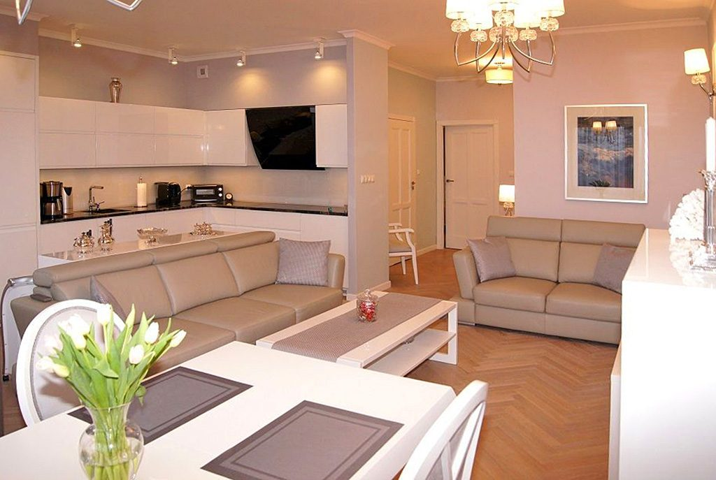 nowoczesne wnętrze ekskluzywnego apartamentu do sprzedaży w Inowrocławiu