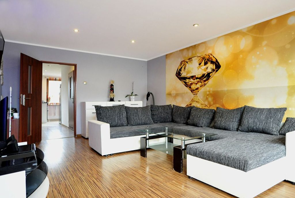 prestiżowy salon w ekskluzywnym apartamencie do sprzedaży w okolicy Katowic