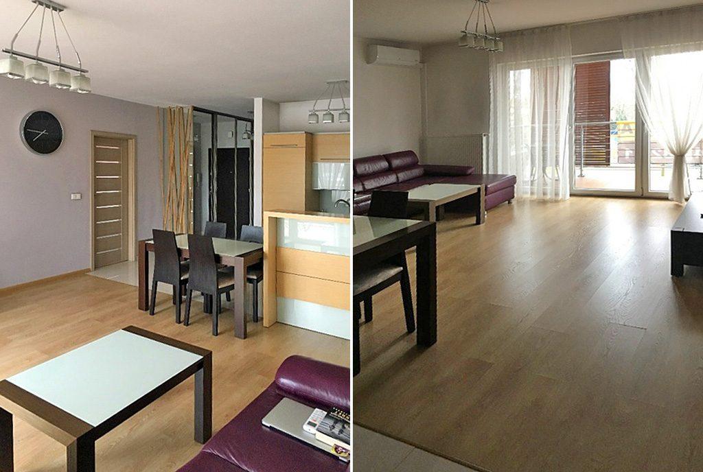 prestiżowy salon w ekskluzywnym apartamencie do wynajęcia w Katowicach