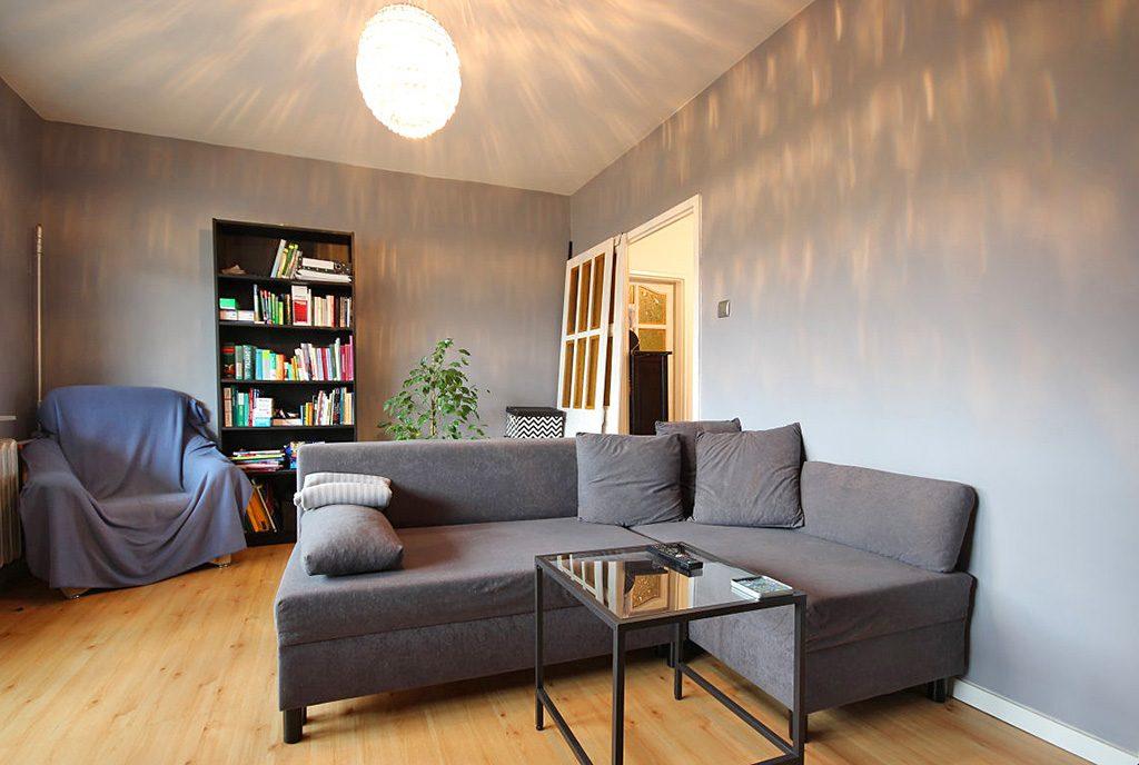 prestiżowy salon w ekskluzywnym apartamencie do sprzedaży w Szczecinie