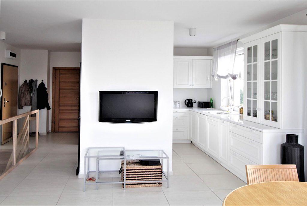 nowoczesny wnętrze ekskluzywnego apartamentu do wynajęcia w Krakowie
