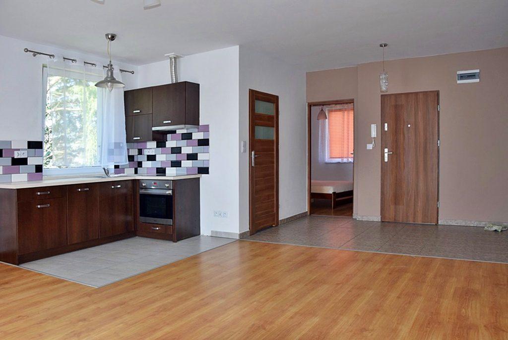 eleganckie wnętrze luksusowego apartamentu do wynajęcia w Bolesławcu